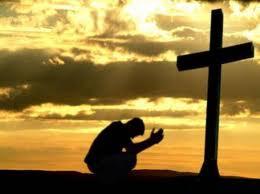 Clamando a Dios, a un paso de pecar.